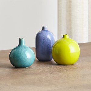 Crate and Barrel Perry Vase Group- Friday Favorites