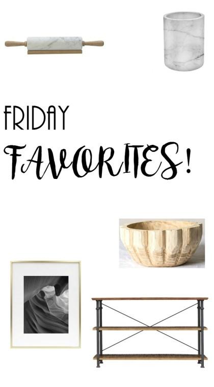 Project Allen Designs Friday Favorites
