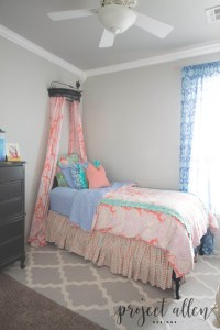 Project Allen Designs Girls Room Reveal