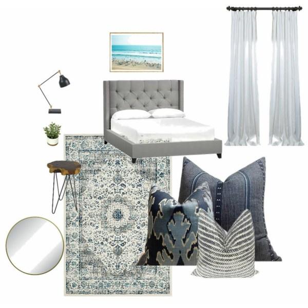 Modern Coastal Boys Room