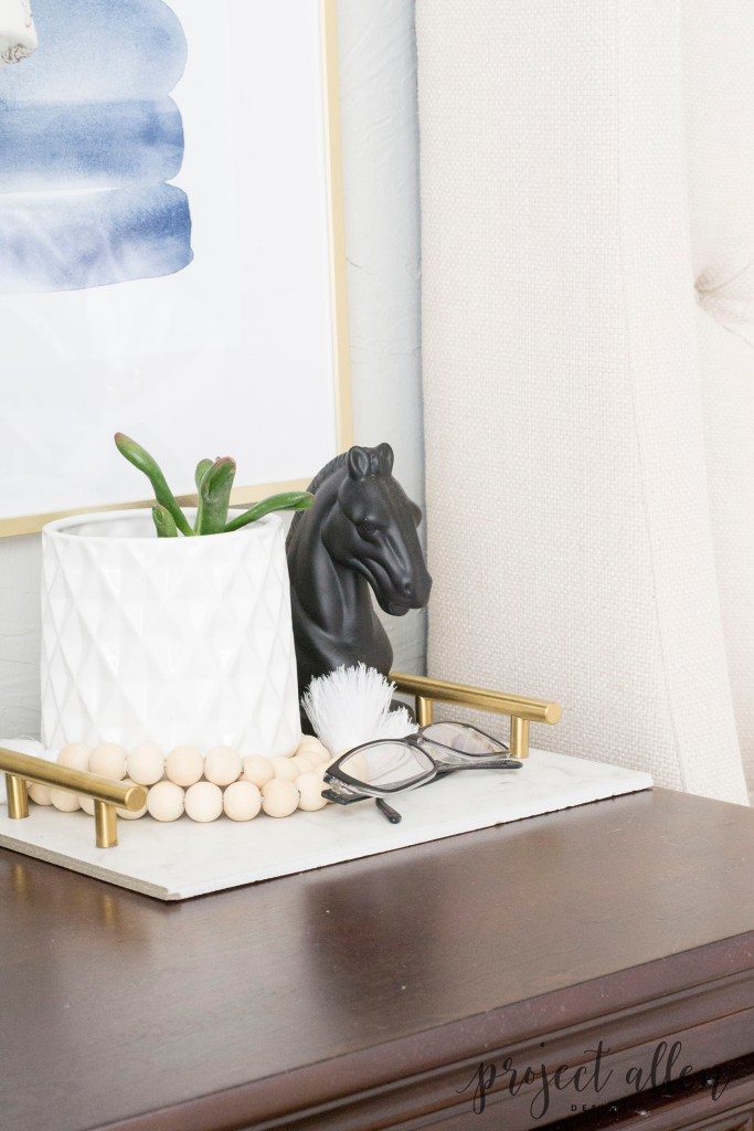 How To Make A DIY Marble Tray On The Cheap