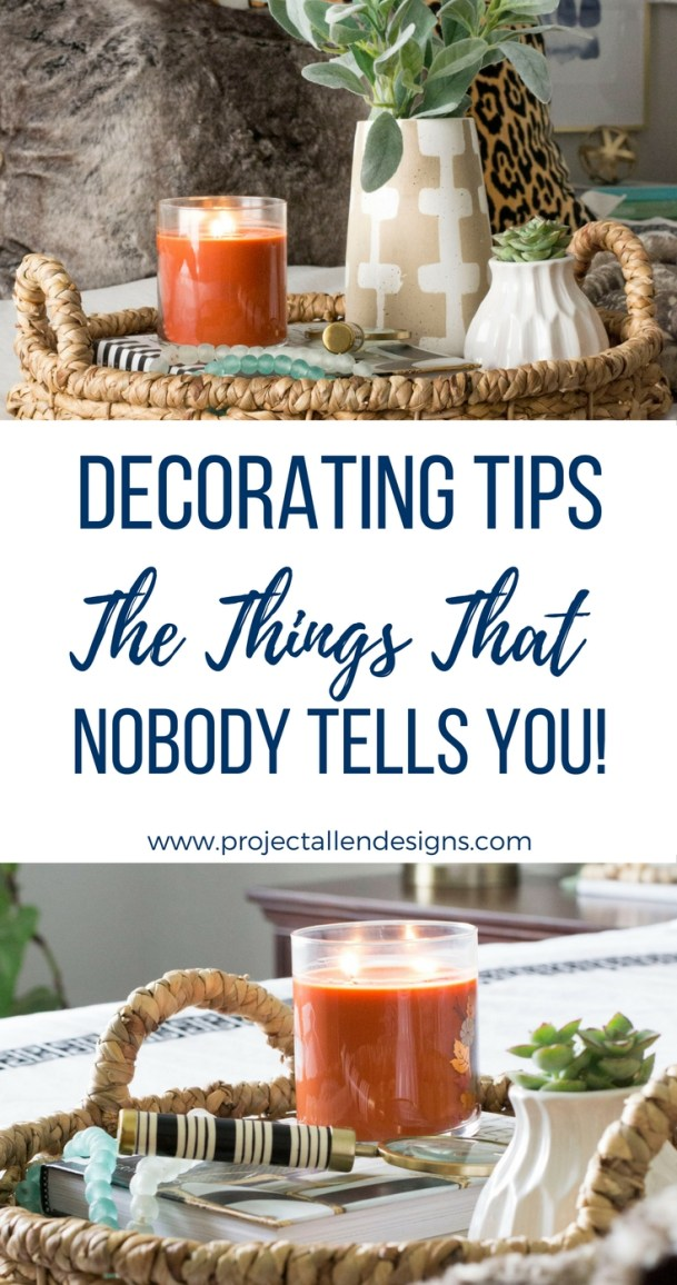 Decorating Tips: Things that nobody tells you. Find out the truth about decorating