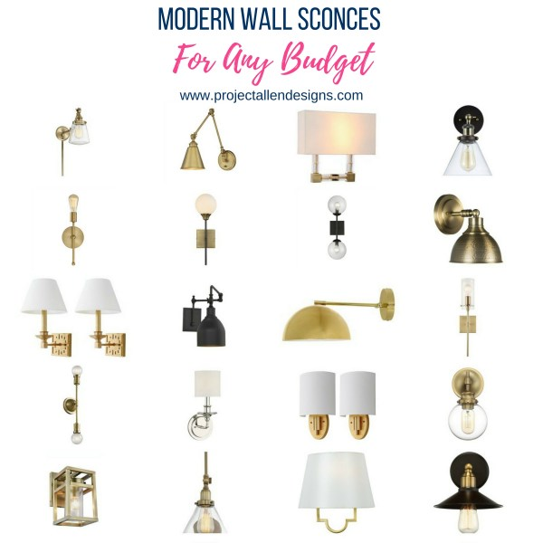Modern Wall Sconces For Any Budget