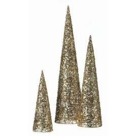 Glitter Sequin Tabletop Trees, Top Christmas Decor Ideas. Christmas Decor
