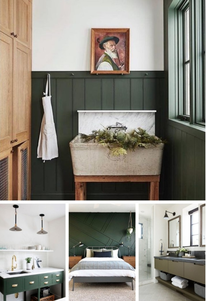 The Best Dark Green Paint Colors To Use in Your Home ...