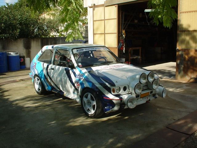Wiring Ford Old Cars Michel Vuillemin S Rally Prepared Mk2 Ford Fiesta