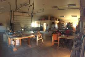 The Workshop & Farm Manager's Office