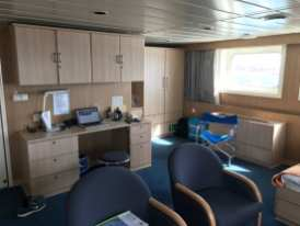 Wonderful 29sqm cabin onboard at F deck just below the bridge with forward and side views - 74