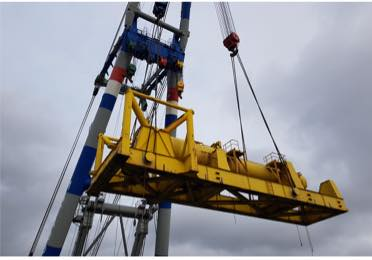 3 hydraulic hammers. Total weight : 819,250 kg. Total volume: 2,070.7 m3 POL: Schiedam, Netherlands, POD : Karimun, Indonesia