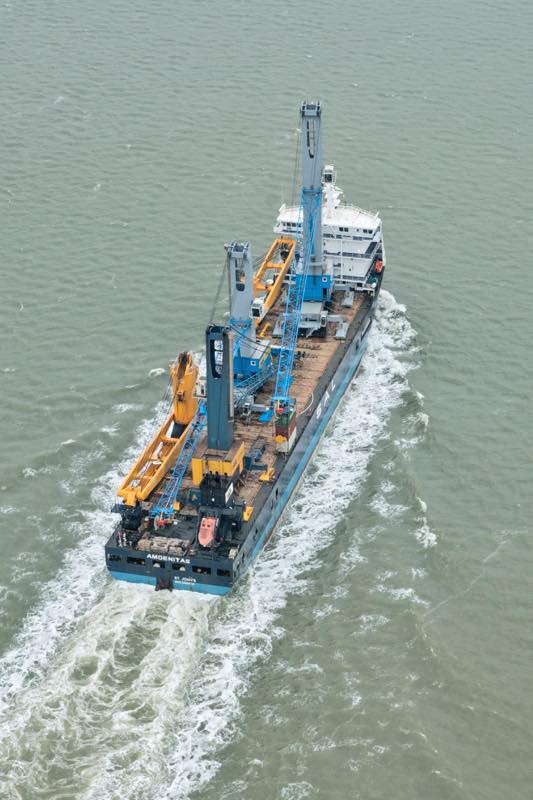 MV Amoenitas - KoneGottwald Cranes