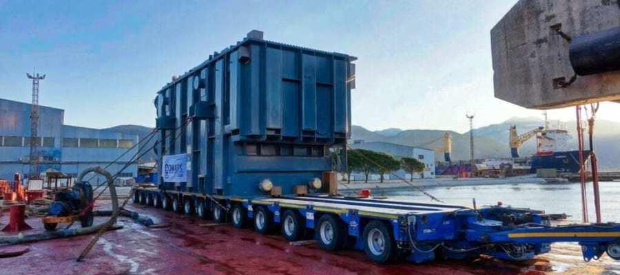 300 metric ton transformer