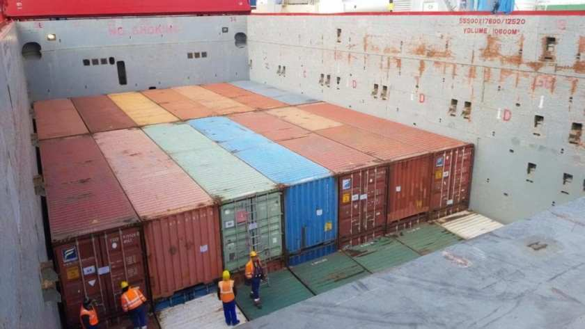 Containers to North Africa