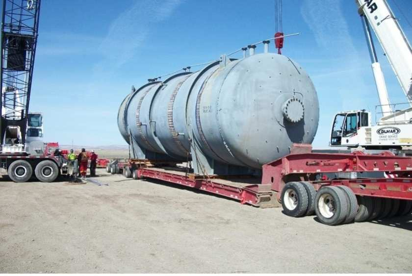 Project cargo moved from Jakarta to Alberta Oil Sands via Houston