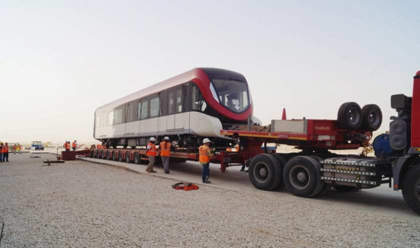 Metro Riyadh Project consisting of more than 250 Metro-Cars