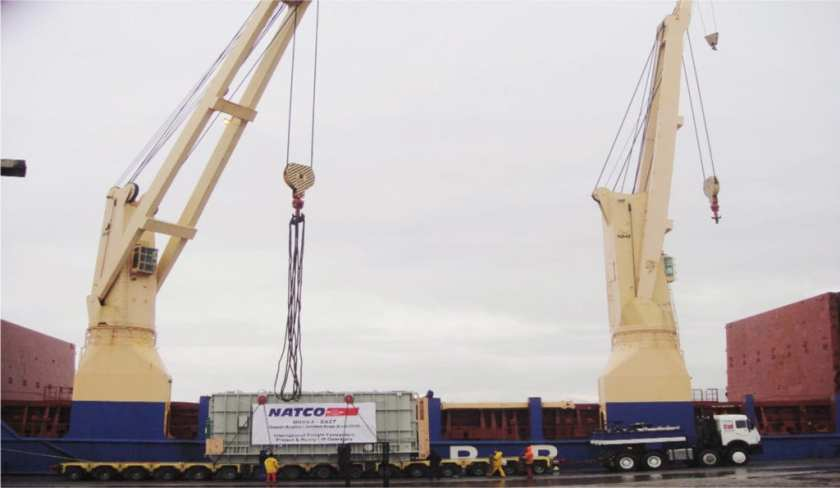 Shipment of Transformers from Turkey to Yanbu for Saudi Electric Company