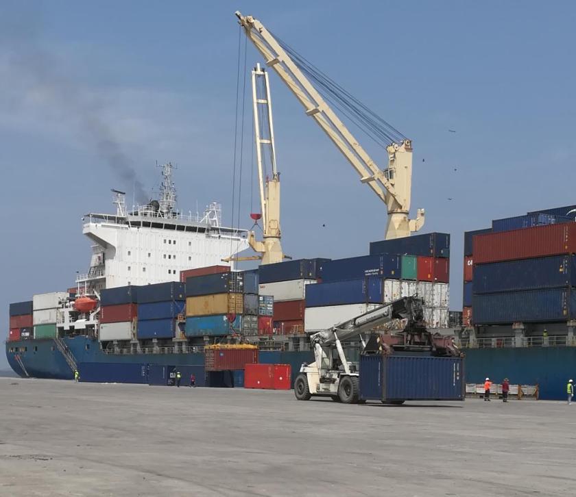 Shipping loading