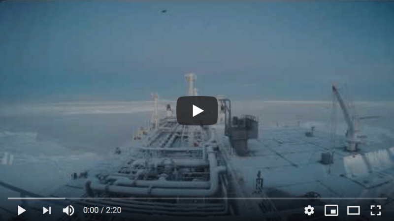 Eduard Toll Breaks Ice on the Northern Sea Route
