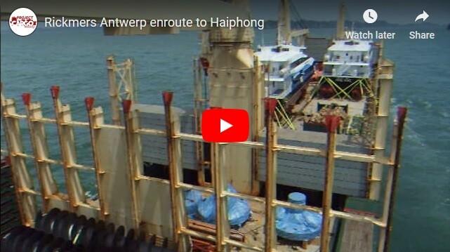 Rickmers Antwerp enroute to Haiphong