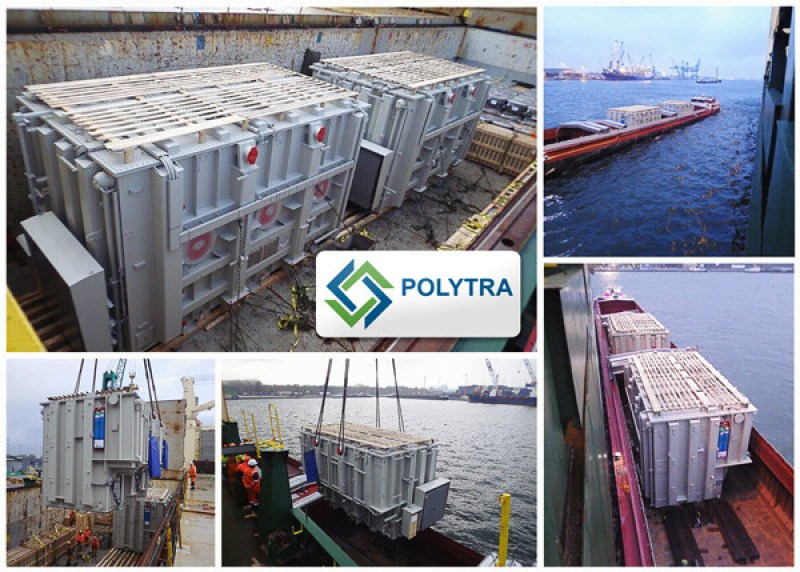 Polytra Shipped Two 210mt Transformers from Belgium to Oman