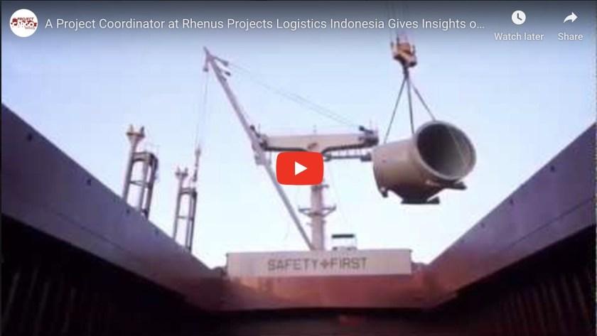 Video of Project Coordinator at Rhenus Project Logistics