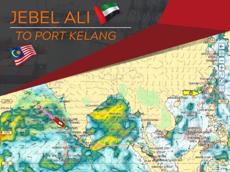 Jebel Ali to Port Kalang