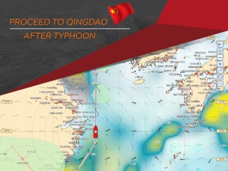Proceed to Qingdao