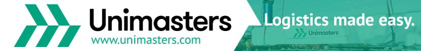 Unimasters Logistics Banner