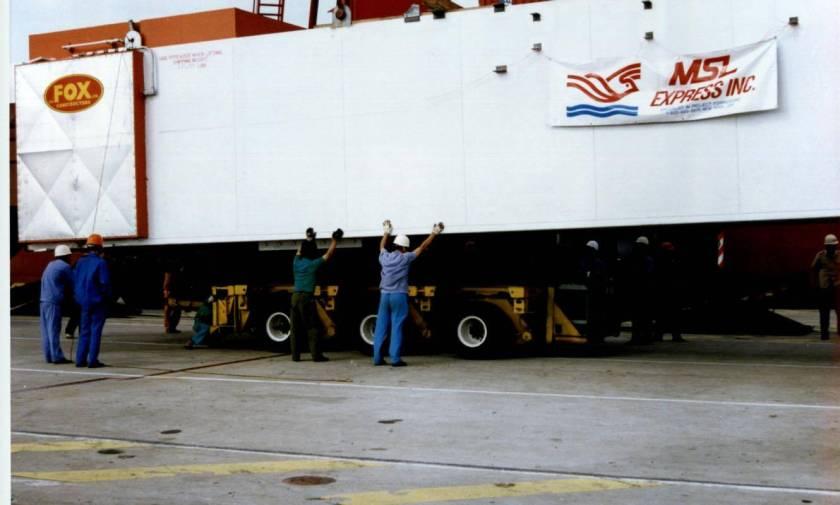 Praxair air separation equipment