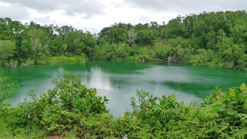 Balai Quarry Lake on Pulau Ubin