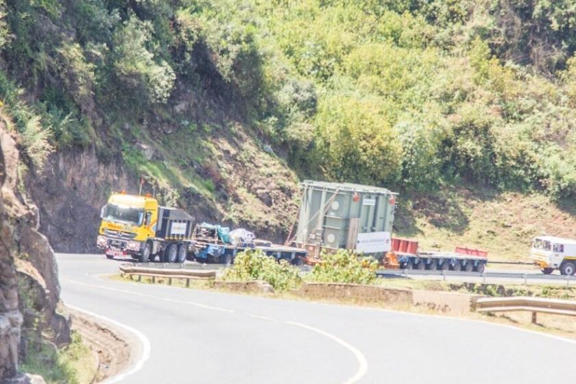 Spedag Interfreight Transformer Trucking