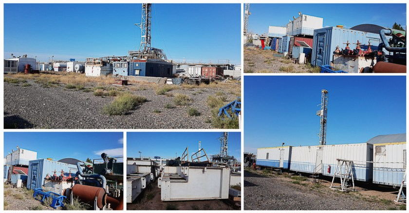 Drilll Rig from Argentina to Bolivia