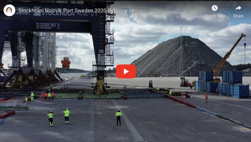 Stockholm Norrvik Port Sweden 2020 ByDrone.se
