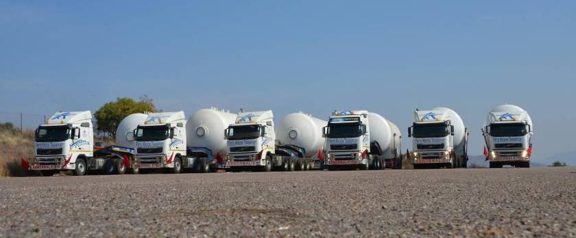 Frits Kroon Transport, South Africa fleet