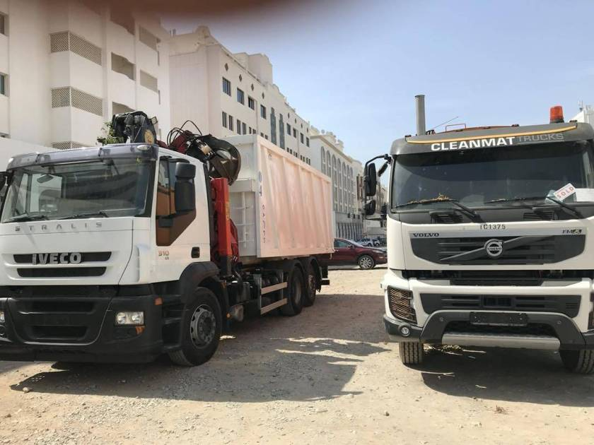 Renaissance Waste Collection Trucks