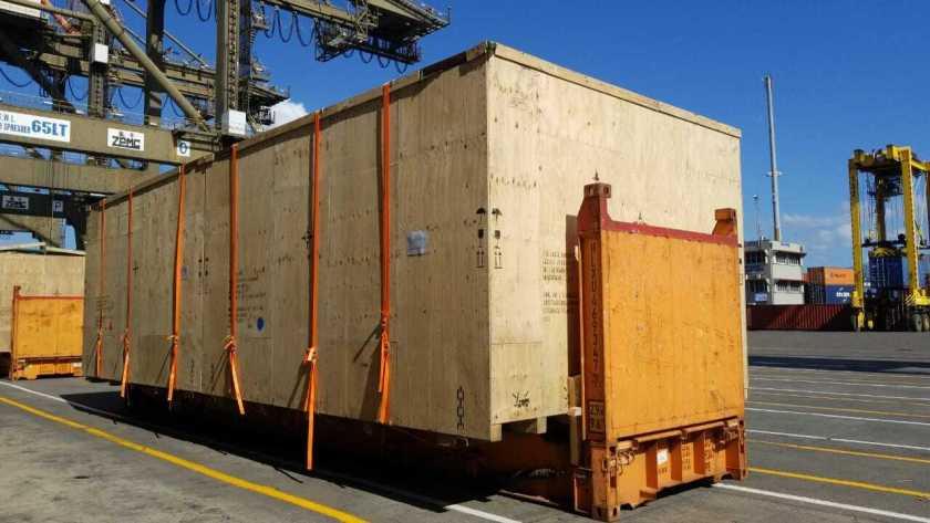 LTN Logistics International Flat Rack OOG Cargo Photo