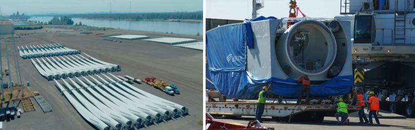 Port of Vancouver USA Receives Longest Wind Blades