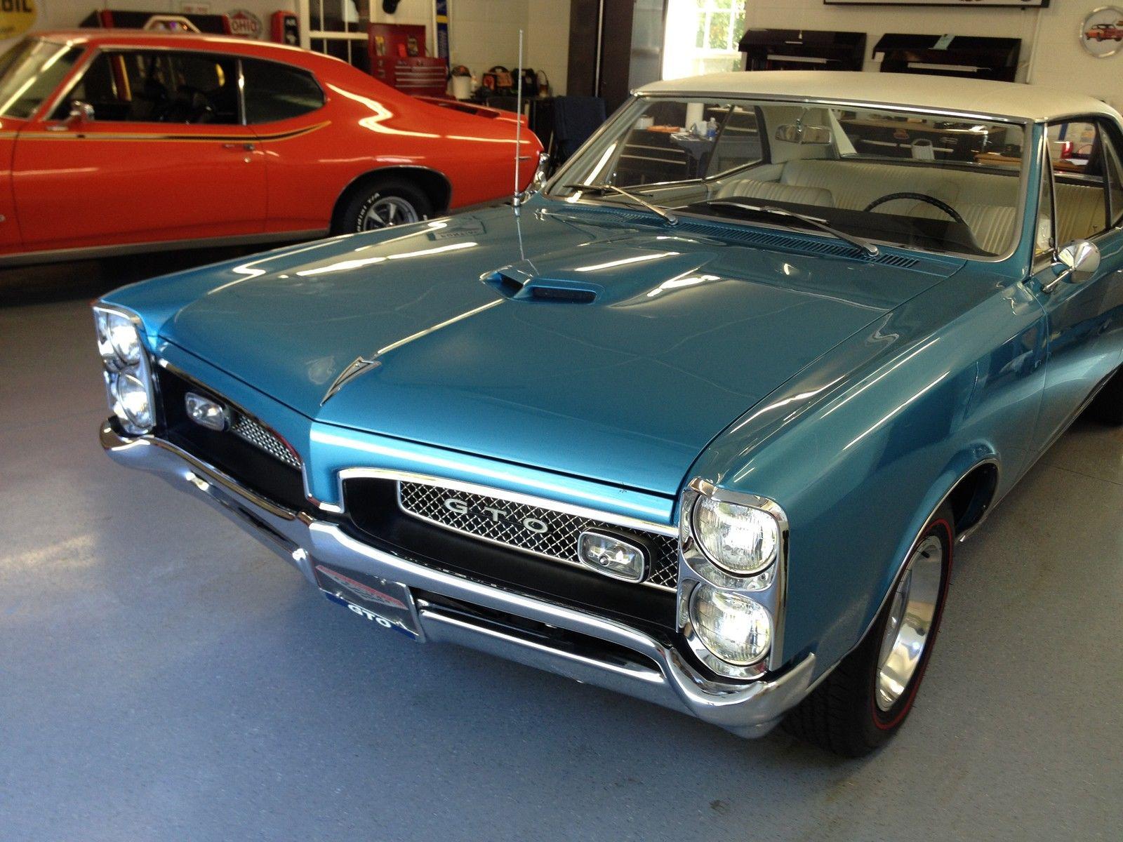 1967 Pontiac Gto Project Car