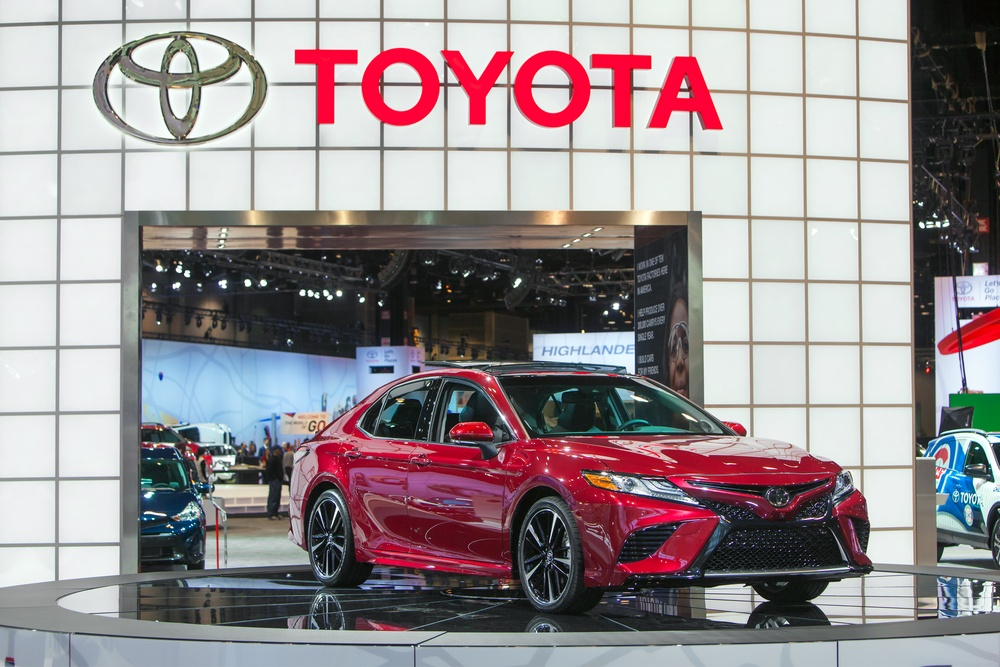 all new camry commercial grand avanza e 2018 toyota orleans casting call for fashionistas chicago february 9 the on display at auto show media preview 2016 in illinois