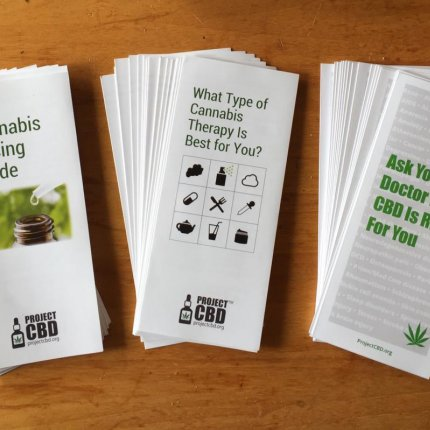 Project CBD Brochures