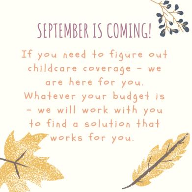 Child Care Option