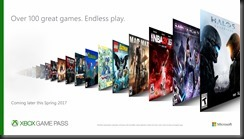Xbox Game Pass Variety Horizontal
