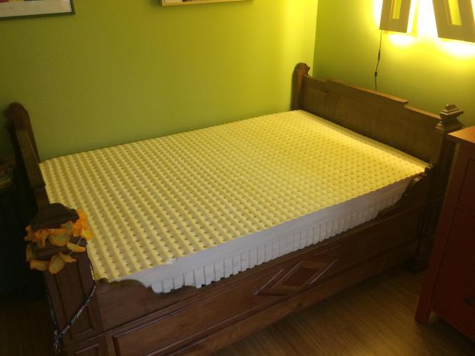 Ikea Hack Slatted Bed Base 06