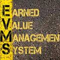 Earned value management system logo