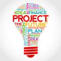 Project management light bulb