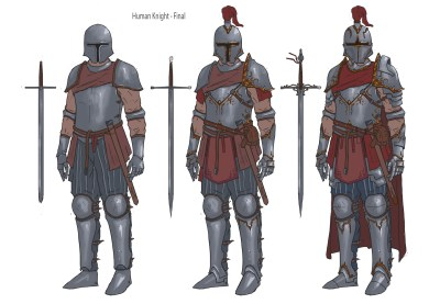 Human Knight Concept