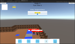 This screenshot shows various UI elements and features coming together in their placeholder forms.