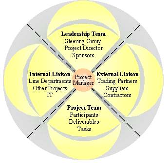 Responsibilities of project manager