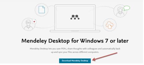 using Mendeley desktop for referencing