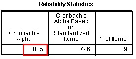 reliability test in spss using cronbach alpha knowledge tank. Black Bedroom Furniture Sets. Home Design Ideas