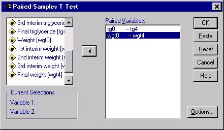 Sample T-test analysis,  Figure 3